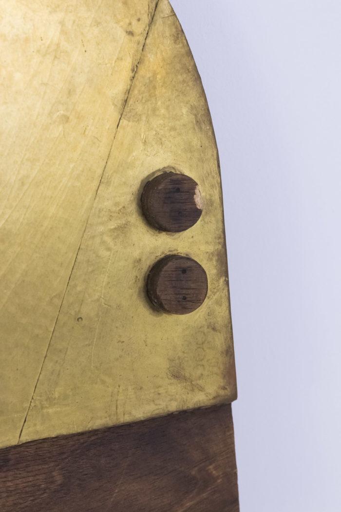 nerone ceccarelli bas relief bois metal dore detail