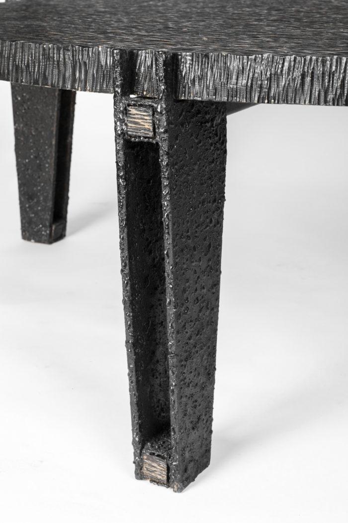 table basse pied métal