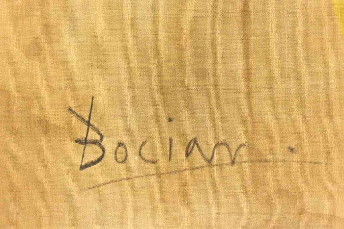 bocian composition abstraite signature
