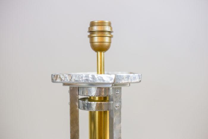 grande lampe bronze fonte aluminium douille