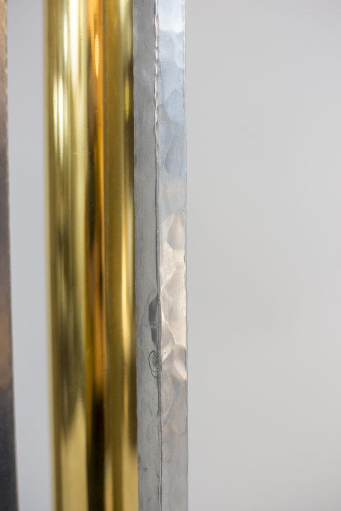 grande lampe bronze fonte aluminium fut