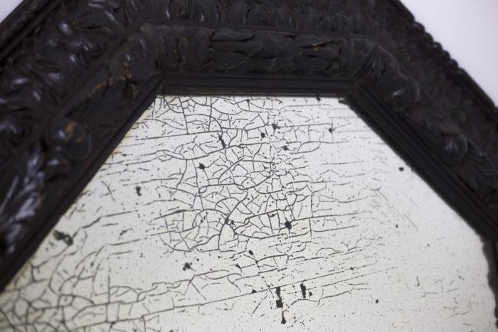 miroir octogonal miroir oxydé