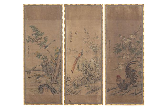 panels rice paper chinese decor
