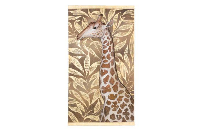 toile-peinte-girafe-pcple