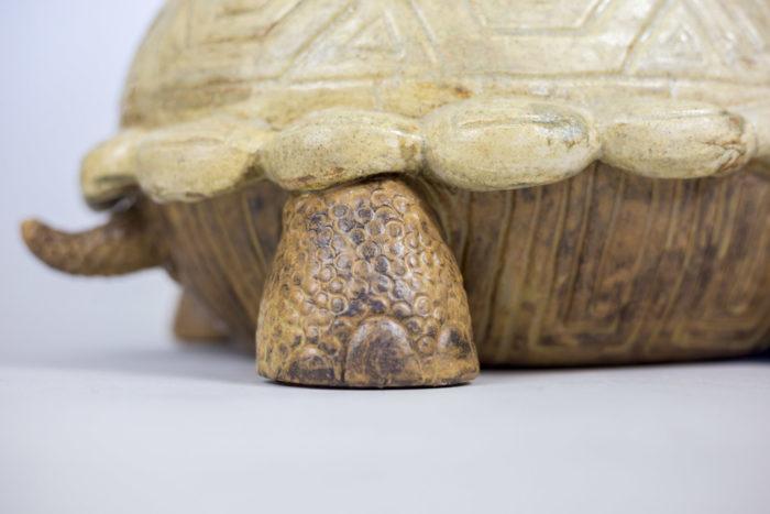 valérie courtet sculpture tortue pattes