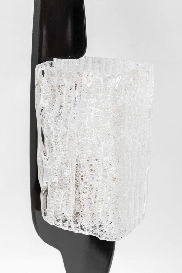 arlus lamp engraved transparent glass