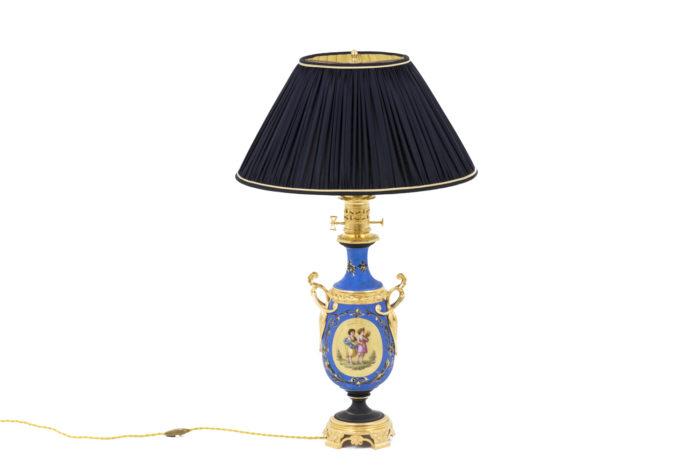 lampe porcelaine neoclassique seule
