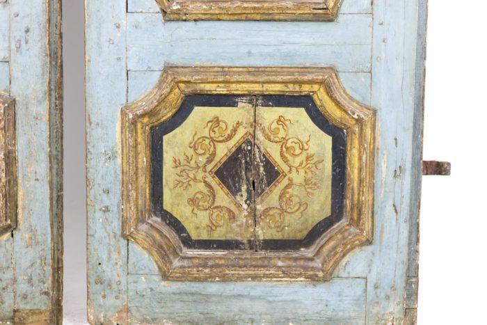 portes bois peint moulures