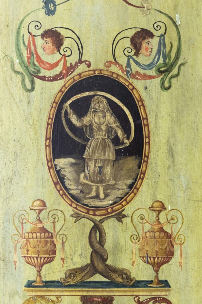 portes italiennes décor grotesques