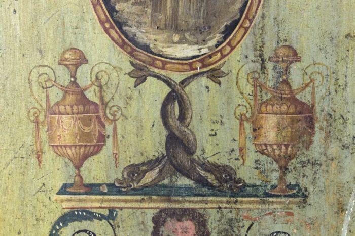 portes italiennes xviiie siecle décor grotesques