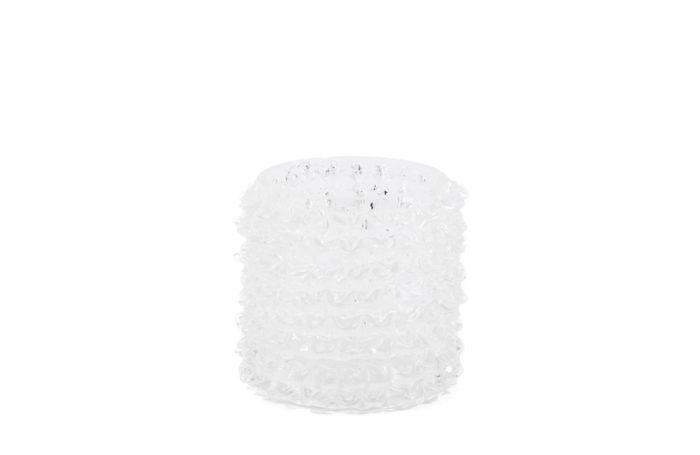 toso murano petit vase verre zigzag