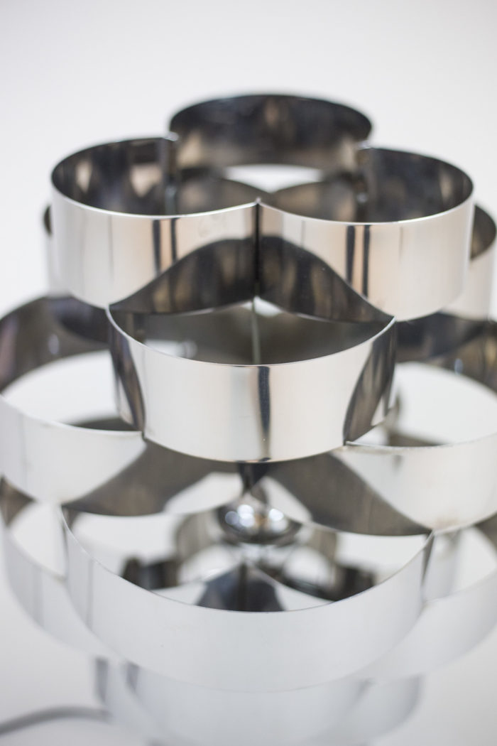 lampe aluminium détail