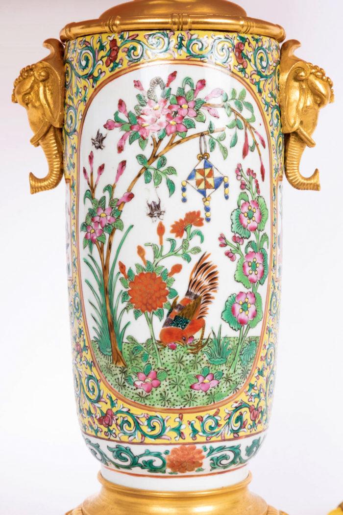 lampe porcelaine samson canton