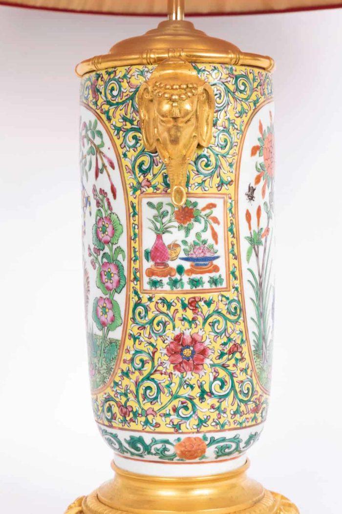 lampe porcelaine samson style canton côté