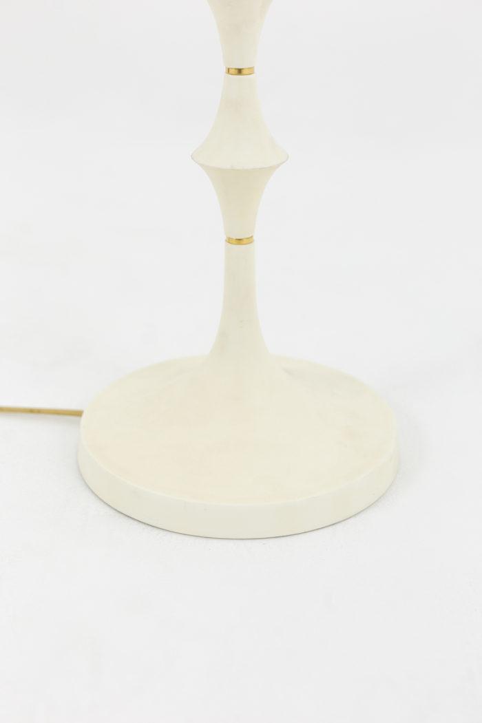 lampe résine blanche base