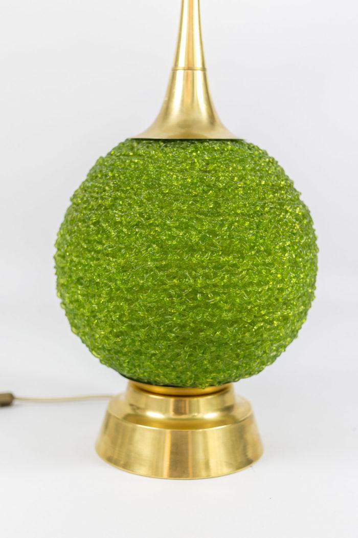 lampes lucite verte boule de buis