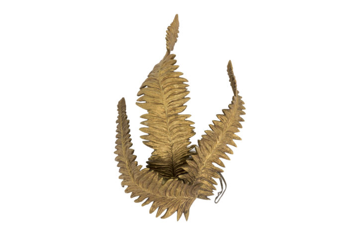 maison charles ferns wall sconce gilt bronze