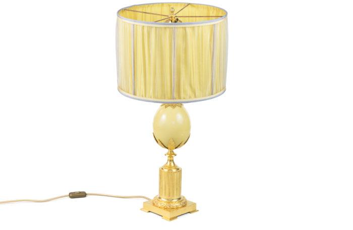 maison charles lampe oeuf d'autruche