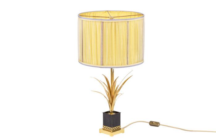 maison charles lampe roseaux bronze doré