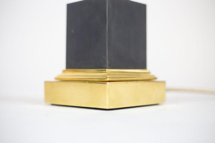 maison charles lampes roseaux base bronze laqué noir