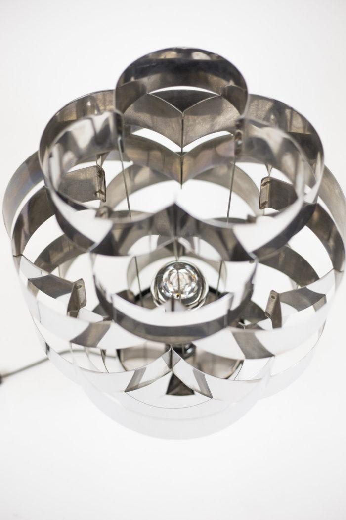 max sauze lampe aluminium polylobée