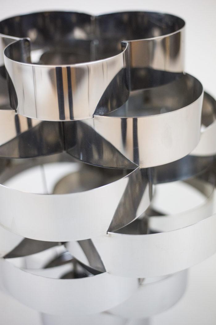 max sauze lampe détail aluminium