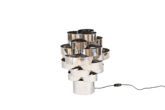 max sauze lampe polylobée aluminium