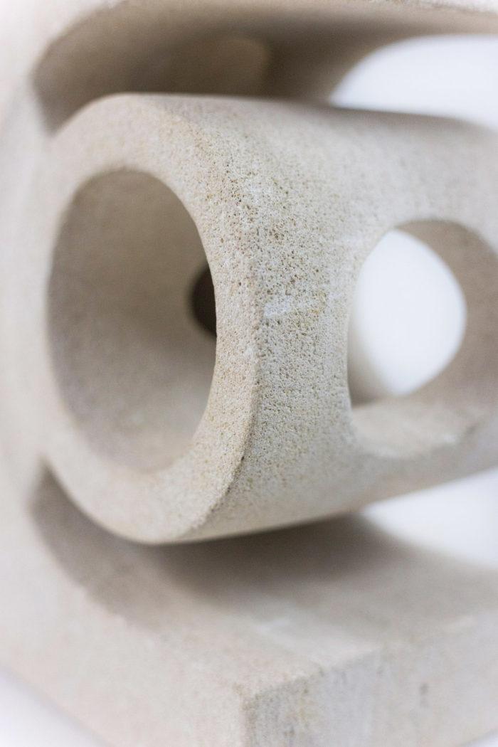robert tormos lampe pierre détail cylindre