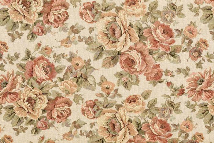 canapé style louis xv bois doré tapisserie roses