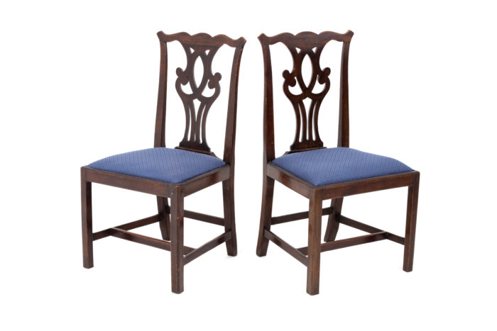 chippendale chairs mahogany