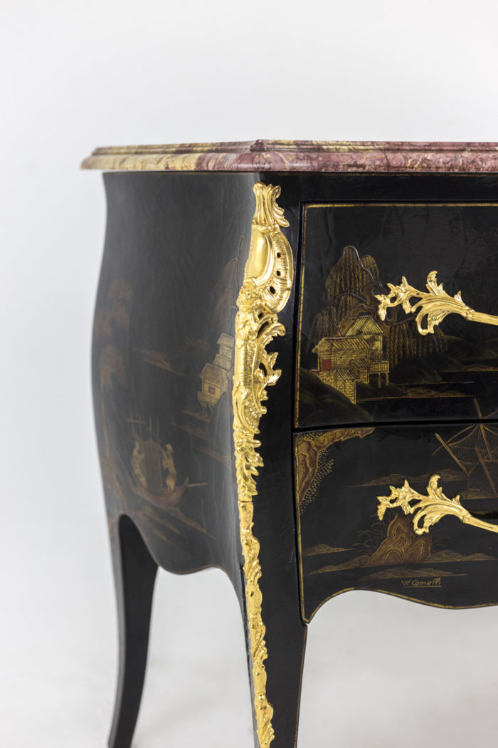comelli commode style louis xv