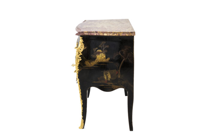 comelli commode style louis xv side 2