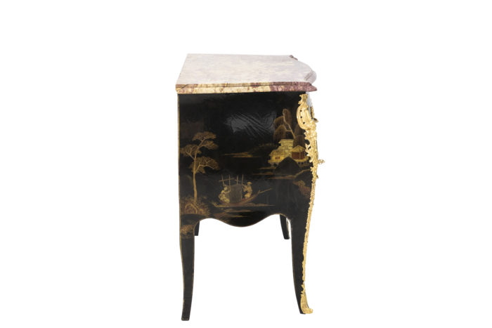 comelli commode style louis xv side