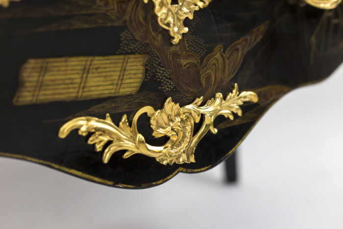 comelli commode style louis xv tablier