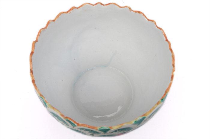 coupe porcelaine chinoise intérieur