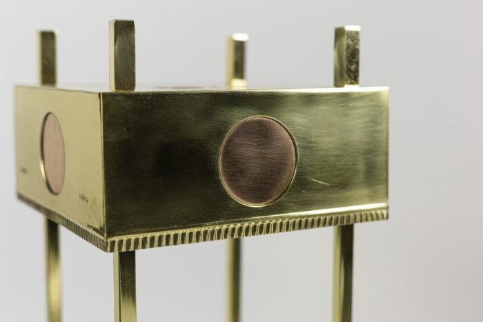 lampe laiton doré jo berlin 1936 cuivre