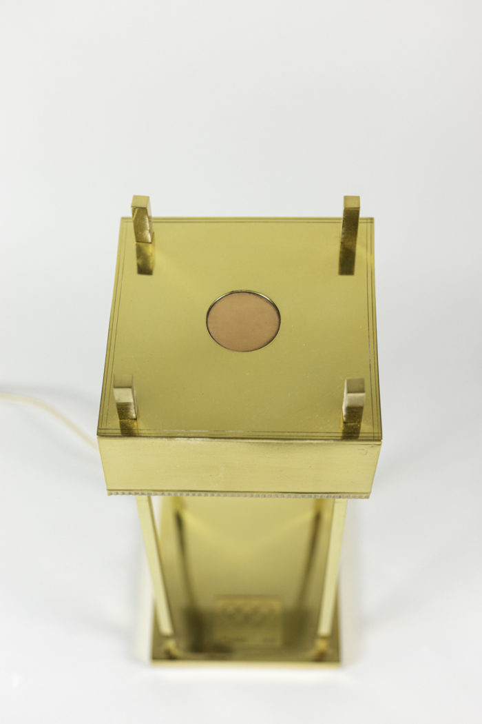 lampe laiton doré jo berlin 1936 dessus