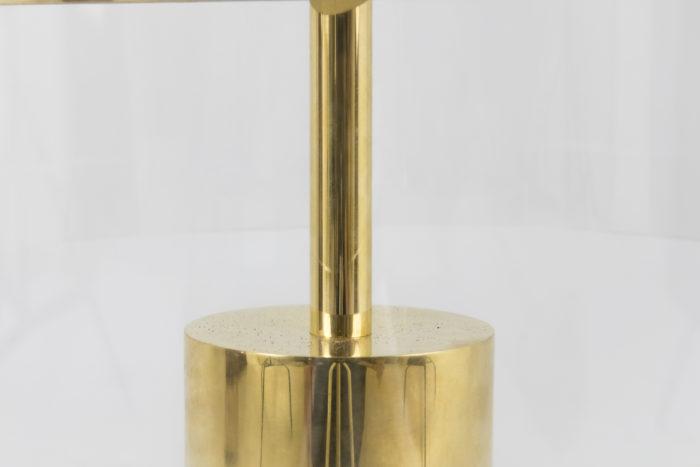 lampe laiton doré tige