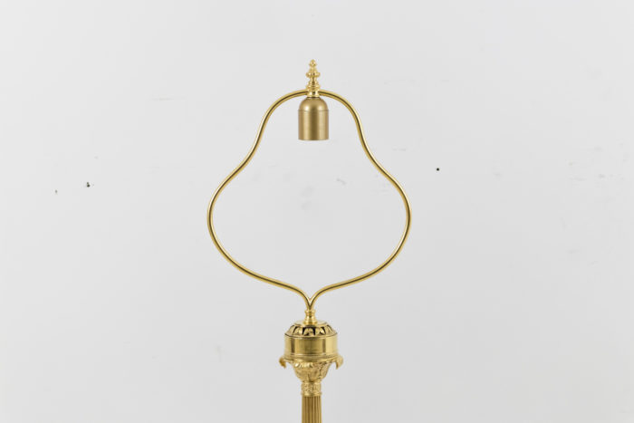 lampe style empire lyre