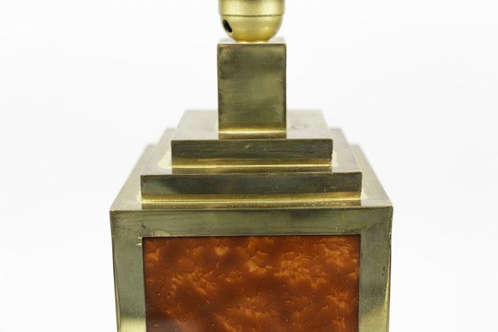 lampes bakélite laiton doré