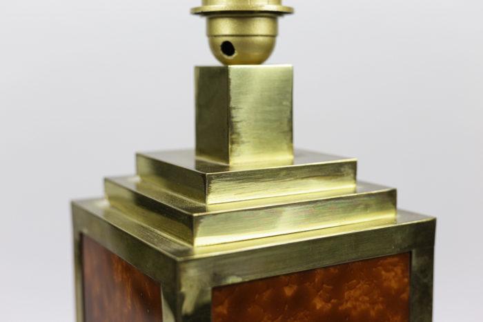 lampes bakélite laiton doré haut