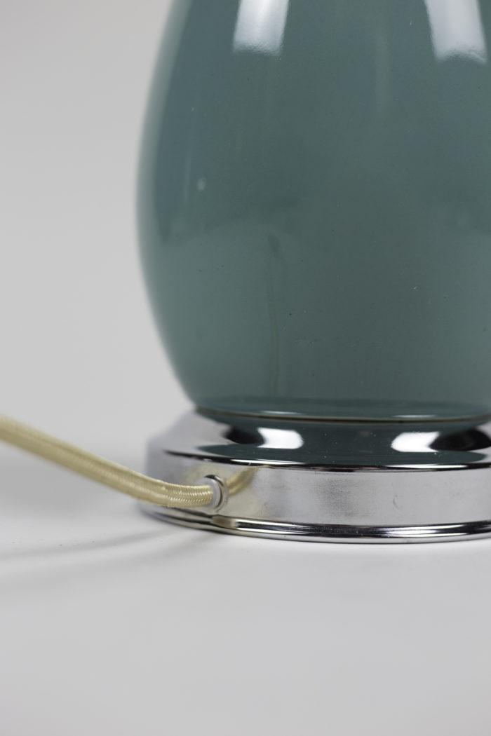 lamps blue porcelain silvered brass detail