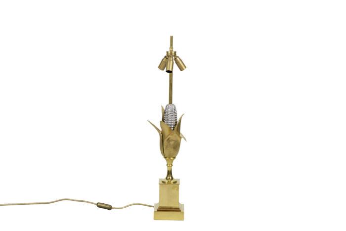 maison charles lampe épi de maïs bronze doré 2