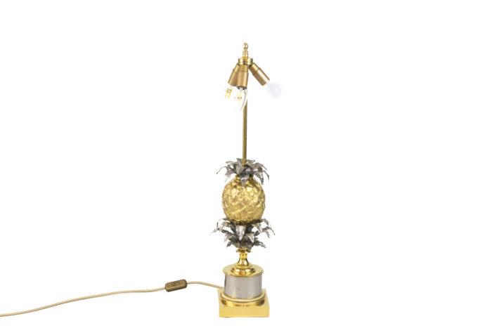 maison charles lampe ananas bronze doré argenté 2