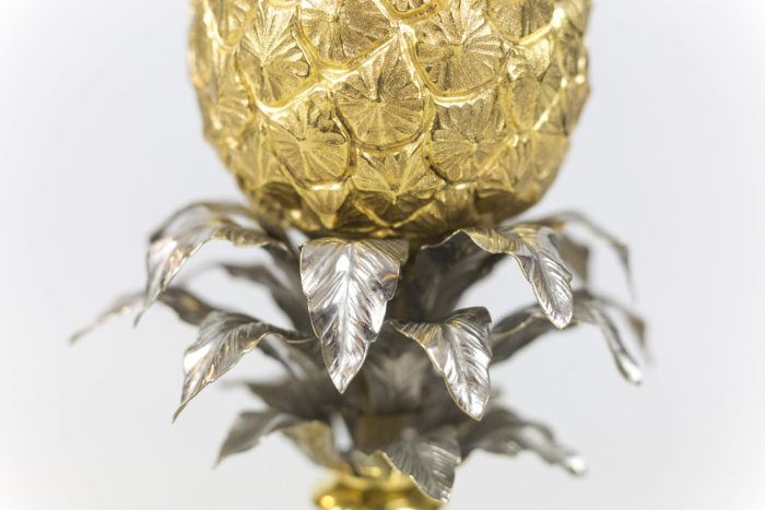maison charles lampe ananas feuilles
