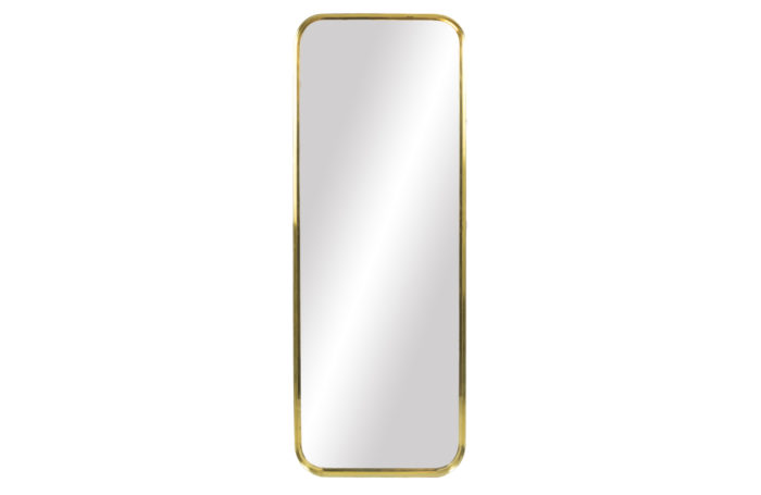 rectangular mirror gilt brass