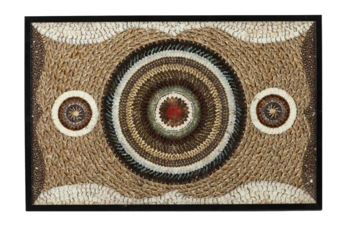 decorative panel butterfly wings african work