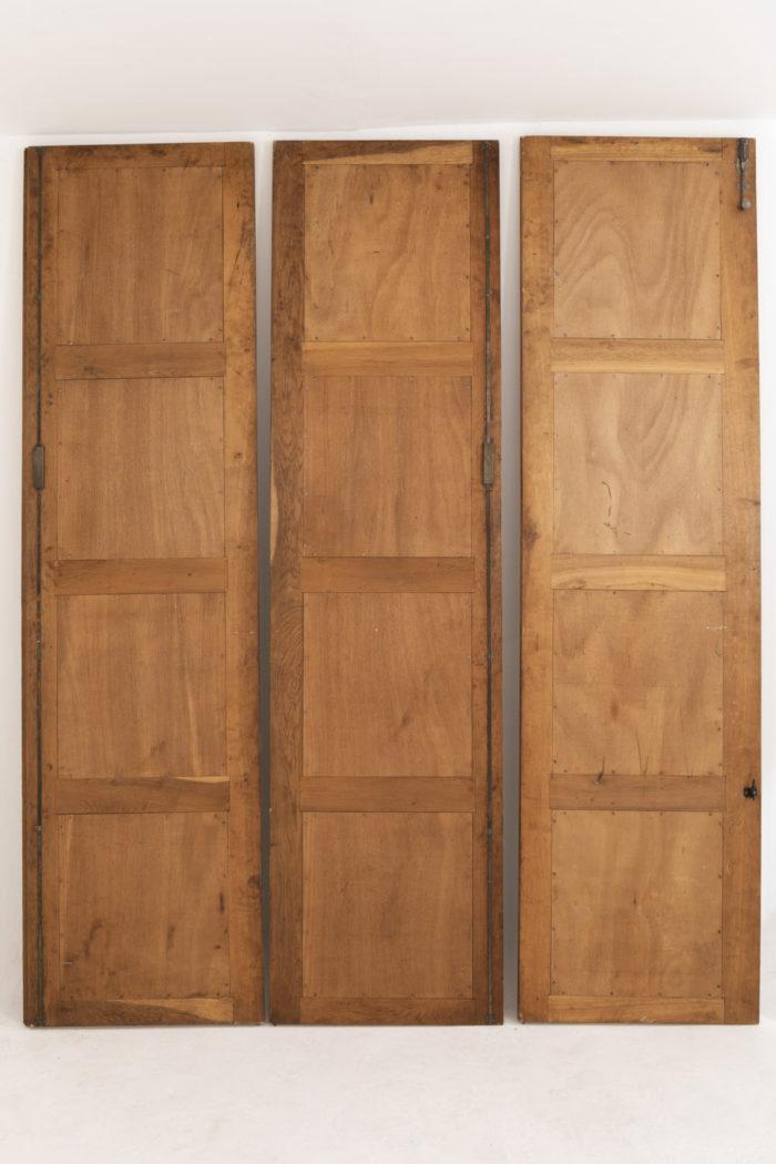 portes chêne dos