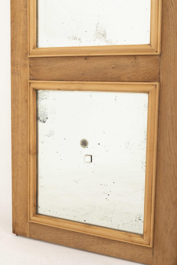 portes chêne miroir oxydation