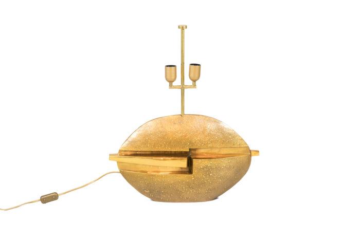 pragos lampe bronze doré